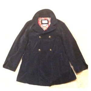 Blazer, corduroy navy blue jacket